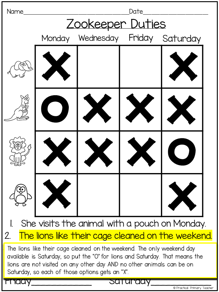 Why Try Logic Puzzles?